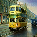 Mike  Jeffries - Glasgow tram.