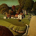 Movie Poster Prints - Grant Wood Birthplace of...