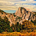 Nadine and Bob Johnston - Half Dome Painting