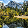John Haldane - Half Dome Reflected in...