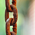 Kaye Menner - Hanging Chain before...
