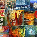 Amalia Suruceanu Art - Happy New Year 2013