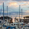 Geri Madera - Harbor at Sunset
