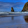 Haystack Rock And The Needles II by David Patterson