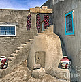 Sandra Bronstein - Home On Taos Pueblo