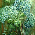 Eloise Schneider - Hydrangeas in the Haze