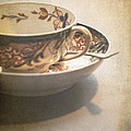 Jan Bickerton - Imari cup and saucer
