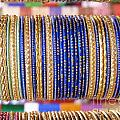 Prajakta P - Indian bangles Blue