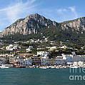 Island Capri Panoramic Sea View by Kiril Stanchev