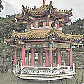 Tony Crehan - Island Pagoda at Zhinan...