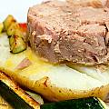 Jacket Potato With Tuna Filling by Fizzy Image