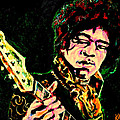 Art by Kar - Jimi Hendrix Digital...