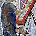 Tim  Swagerle - Jules at the Easel