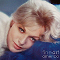 Kim Novak Blue by Frank Bez