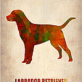 Labrador Retriever Poster by Naxart Studio