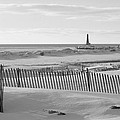 Lake Michigan Don't Fence Me In by Rosemarie E Seppala