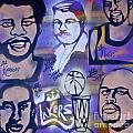 Lakers Love Jerry Buss 2 by Tony B Conscious