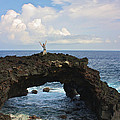 Venetia Featherstone-Witty - Lava Sea Arch in Hawaii