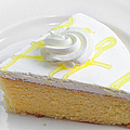 Andee Photography - Lemon Chiffon Cake Slice