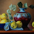 Dan Petrov - Lemons with red vase