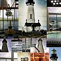 Susan Garren - Light House Collage