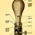 Lightbulb Patent by Digital Reproductions