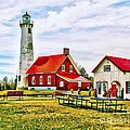 Nick Zelinsky - Lighthouse in Tawas...