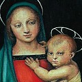 Pamela Humbargar - Madonna and Child after...