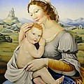 Nathalie Chavieve - Madonna of the fields