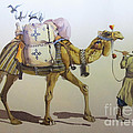 Persian Art - Man With The Camel In...