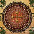 Mandala Armenian Cross Sp by Bedros Awak