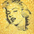 Rodolfo Vicente - Marilyn Monroe On Yellow...