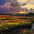 Debra and Dave Vanderlaan - Marsh at Sunrise