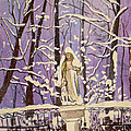 Susan Duda - Mary in Snow