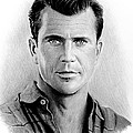 Andrew Read - Mel Gibson bw