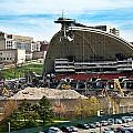 Mellon Arena Partially Deconstructed by Amy Cicconi