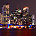Jon Holiday - Miami Skyline at Night...