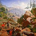 Miners In The Sierras by Charles Nahl