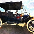 Liane Wright - Model T Ford