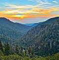 Frozen in Time Fine Art Photography - Mortons Overlook Smoky...