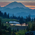 Mike Reid - Mount Rainier Layers