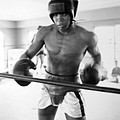 Muhammad Ali Training Inside Ring by Retro Images Archive
