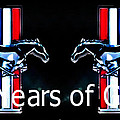 M and L Creations - Mustang 50 Years of Glory