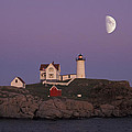 Nubble Light by Christian Heeb
