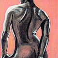 Asha Carolyn Young - Nude in Pink and Charcoal