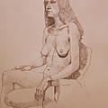 Ray Agius - Nude study for Niki