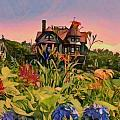 Lyn Voytershark - Oak Bluffs Victorian -...