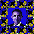 Obama Abstract Window 20130202m118 by Wingsdomain Art and Photography