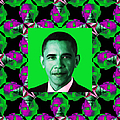 Obama Abstract Window 20130202p128 by Wingsdomain Art and Photography