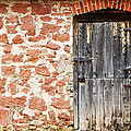 Lincoln Rogers - Old Door in a Stone Wall